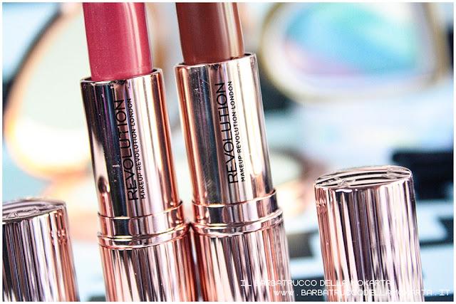 lipstick Rossetto Renaissance  makeup revolution review