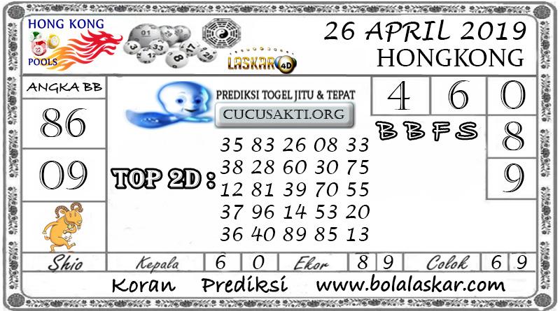 Prediksi Togel HONGKONG LASKAR4D 26 APRIL 2019