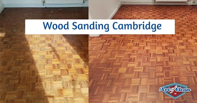 parquet flooring sanding in cambridge