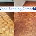 Parquet flooring sanding in Ely