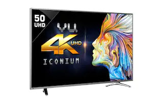 Use promocode TVOFFER9000 in paytm mall to get 7% cashback on VU (49 Inch) smart LED TV 1