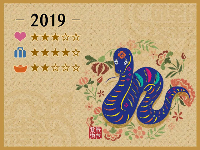 Chinese New Year 2019, Year of the Snake
