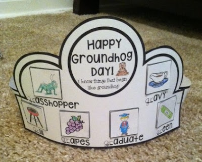 https://www.teacherspayteachers.com/Product/Groundhog-Day-Crown-2396742