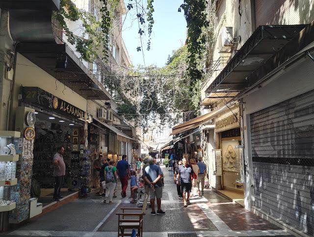 Parisuhdematka Ateenaan - ilman lapsia