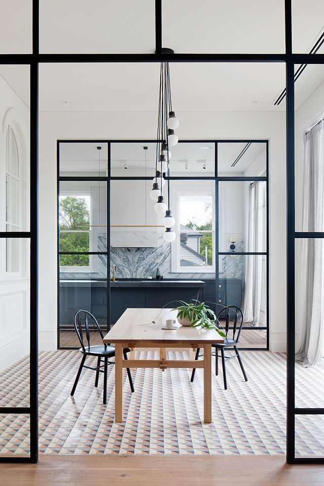 T d c prahran residence by hecker guthrie for Guthrie dining