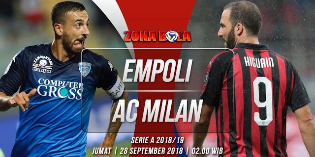 Prediksi Bola Empoli vs AC Milan Liga Italia
