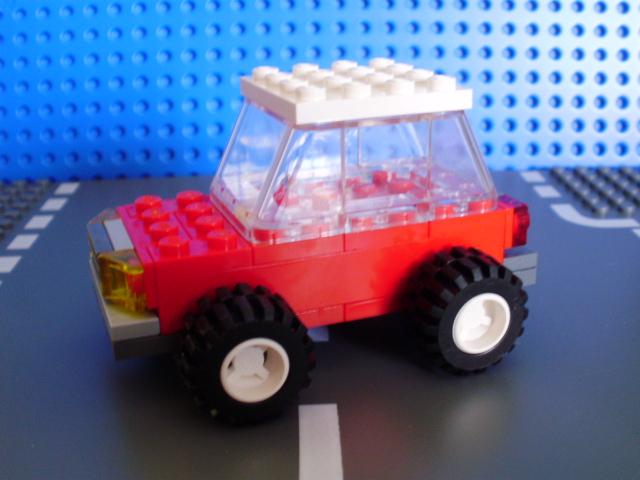 MOC LEGO carro vermelho