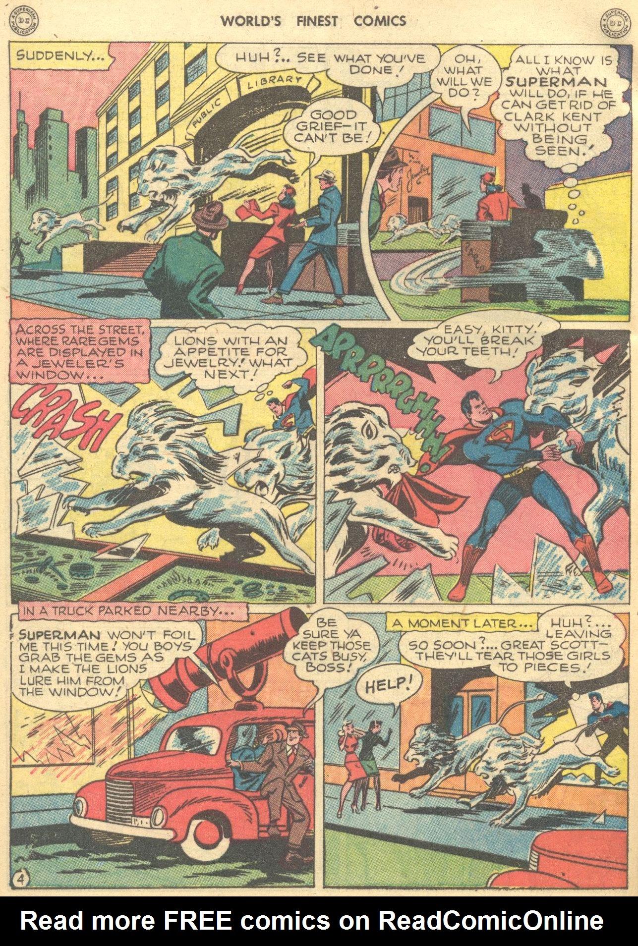 Read online World's Finest Comics comic -  Issue #28 - 5