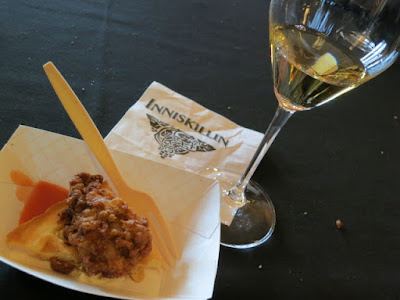 Inniskillin Riesling Icewine paired with Chicken + Waffles