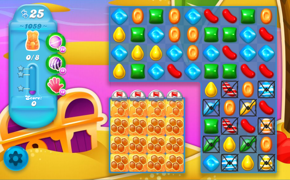 Candy Crush Soda Saga level 1059