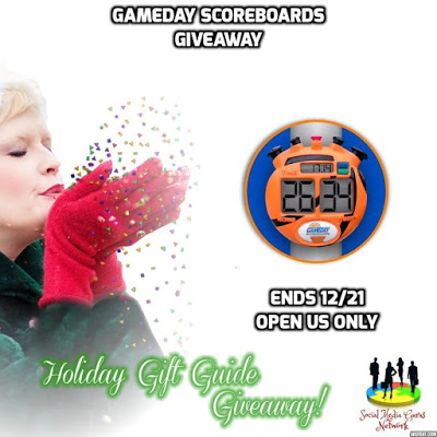 Gameday Scoreboards Giveaway