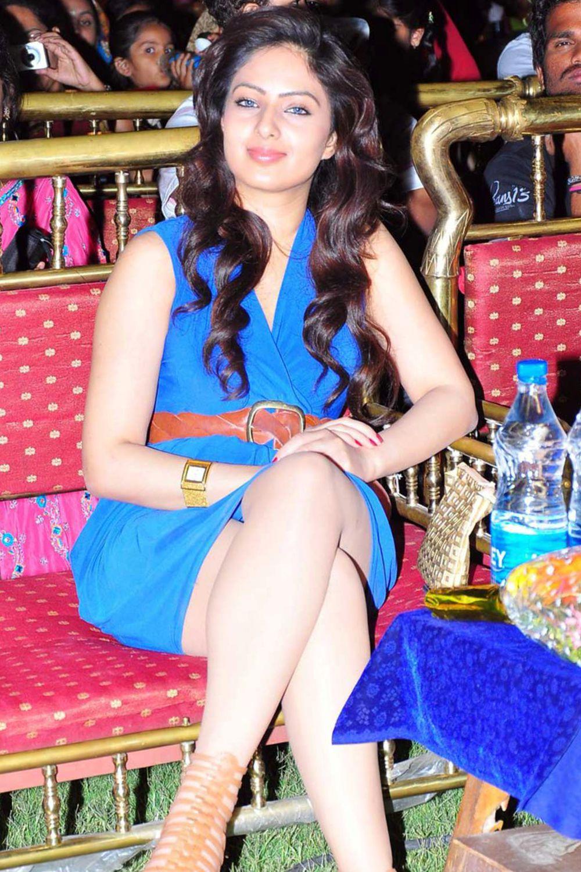 Nikesha Patel Stills Hot in Blue   Gorgeous Lady