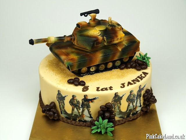Military Birthday Cake London