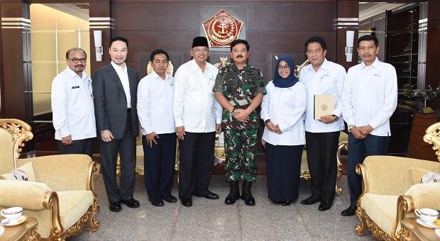 Panglima TNI Terima Audiensi Bupati Malang