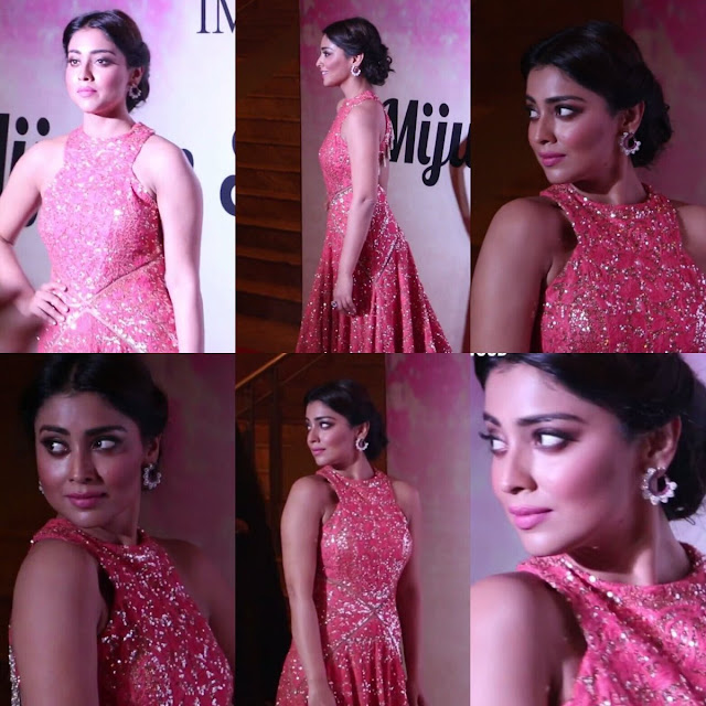 Shriya Saran At Mijwan - Summer 2017 Fashion Show