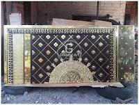 Pembuat pintu masjid Nabawi yogyakarta, Indonesia
