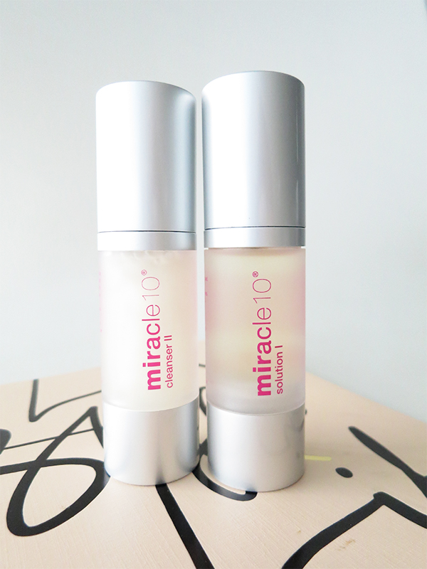 Miracle 10 Cleanser II and Solution I