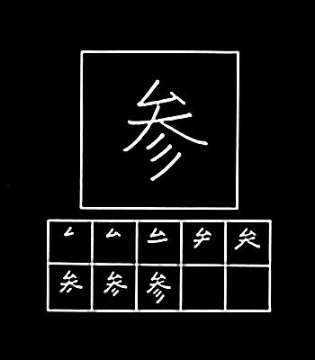 kanji mengunjungi kuil