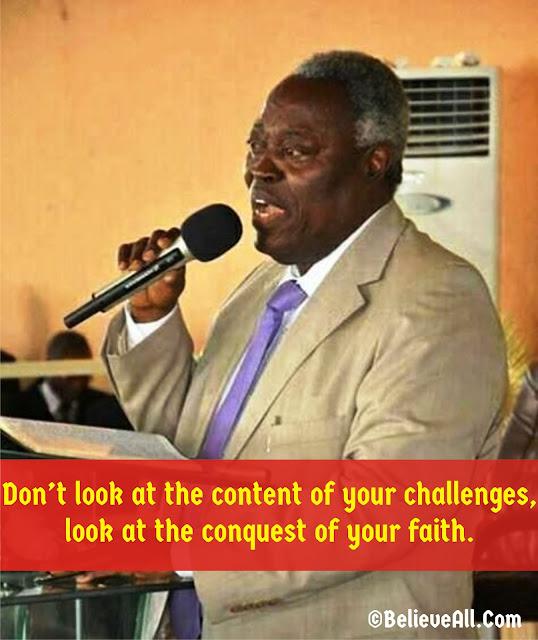 Pastor William F. Kumuyi's Quotes