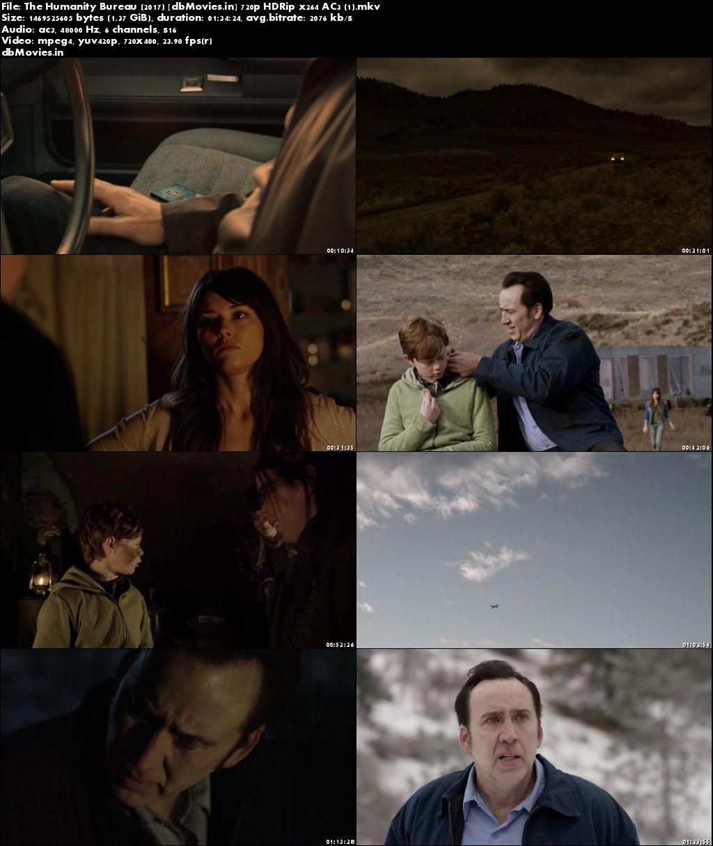Screen Shots The Humanity Bureau 2017 Full Movie Download English 720p