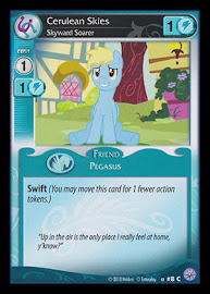 My Little Pony Cerulean Skies, Skyward Soarer Premiere CCG Card
