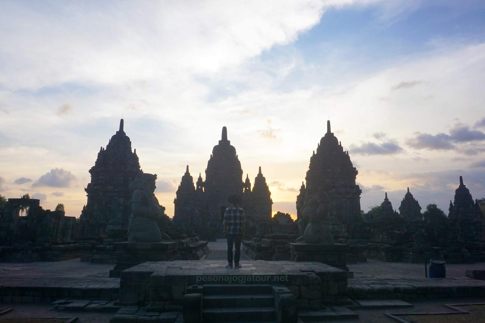 Sunset Candi Sewu Prambanan