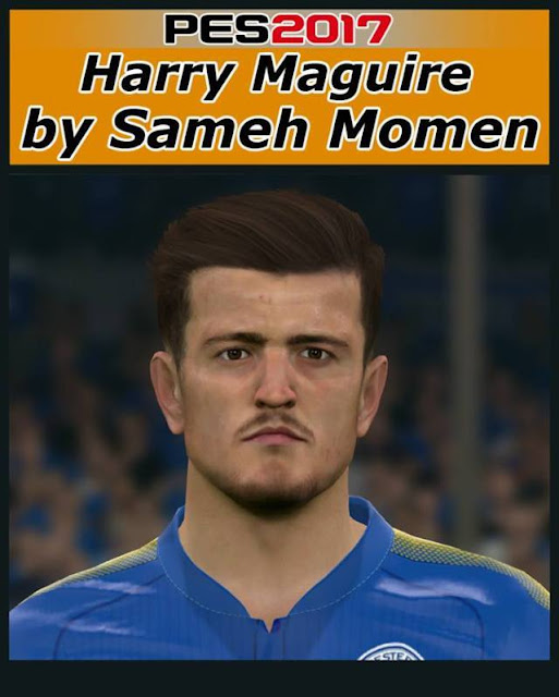 Harry Maguire Face PES 2017