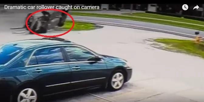 Και όμως βγήκε ζωντανός από ένα.. ασύλληπτο τροχαίο (Βίντεο)