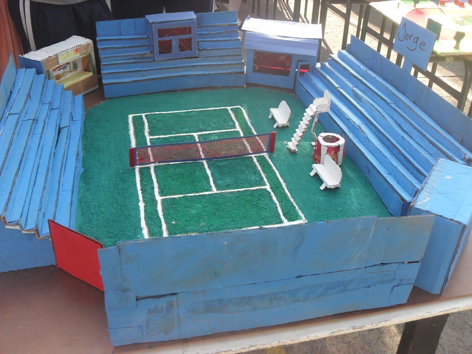 Colegio evangelico lucille rupp exhibicion de maquetas deportivas - Red voley piscina ...