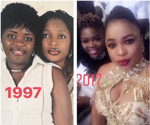 Lol! This throwback photo of Kemi Afolabi proves patience is really key