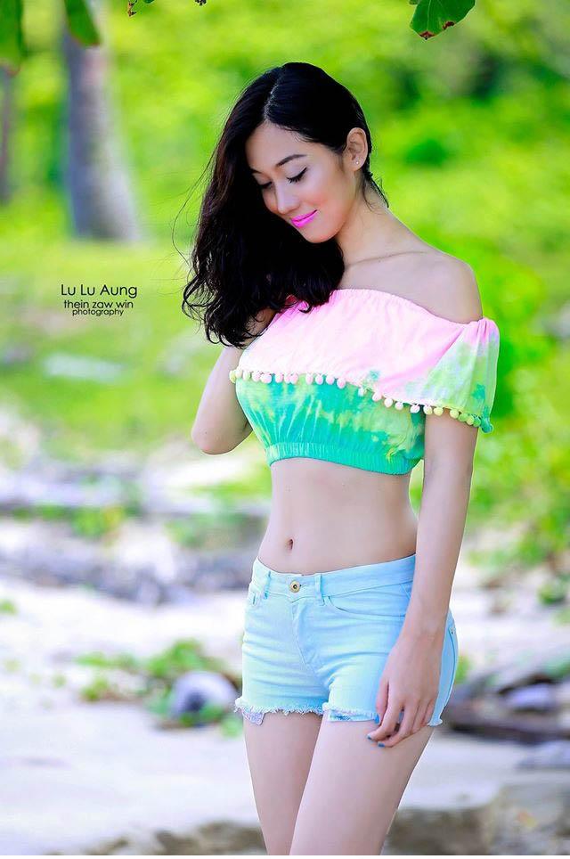 Are myanmar model beach photos quite good