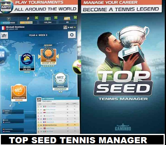 Best tennis manager game on Android Top Seed 2017