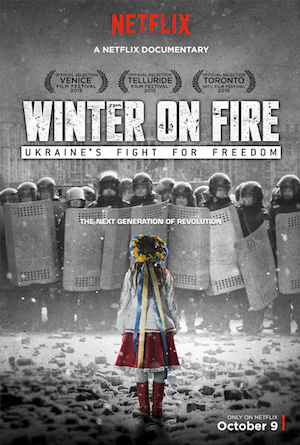 Poster Winter on Fire: Ukraine's Fight for Freedom 2015