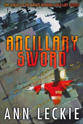 Ancillary Sword by Ann Leckie - book cover
