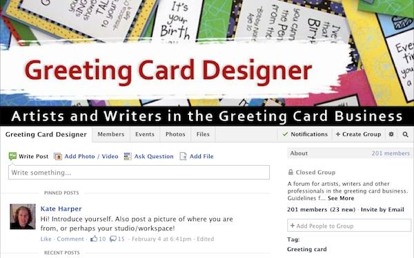https://www.facebook.com/groups/greetingcarddesigner/