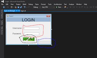 Aplikasi Login Visual Basic