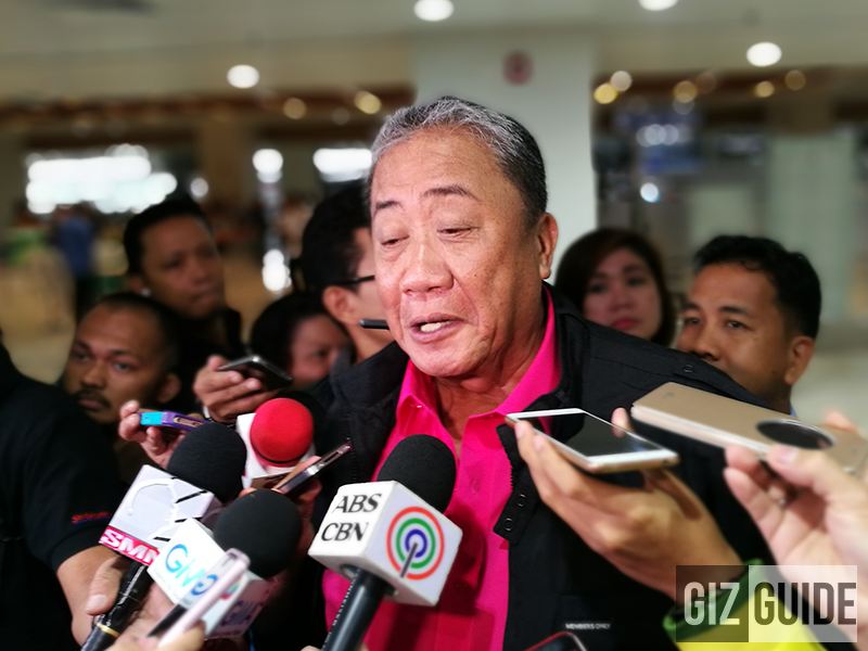 Sec. Art Tugade is present at the event earlier