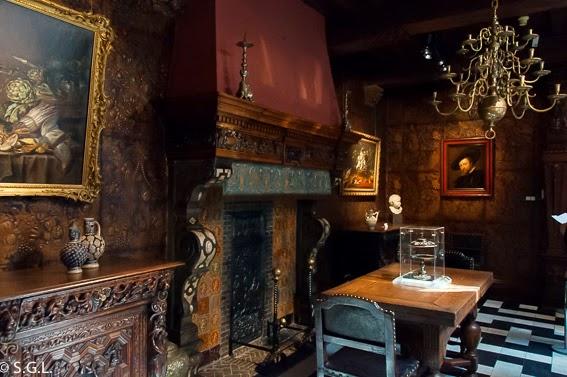 Casa de Rembrandt en Amberes en Belgica