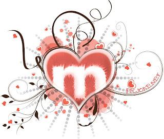 cuore rosso con in mezzo la M della Musicland