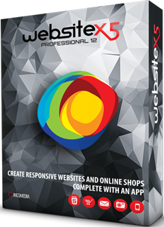 Incomedia WebSite X5 Professional 12.0.9.30 + Serial