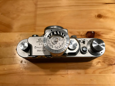 Leica IIIa with Leicameter 2