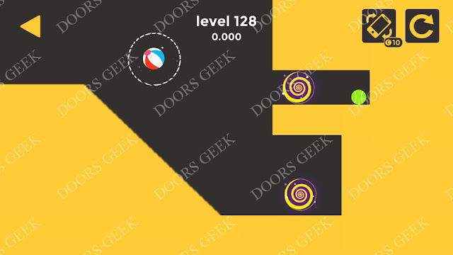 Ball & Ball Level 128 Solution, Walkthrough, Cheats for android and ios