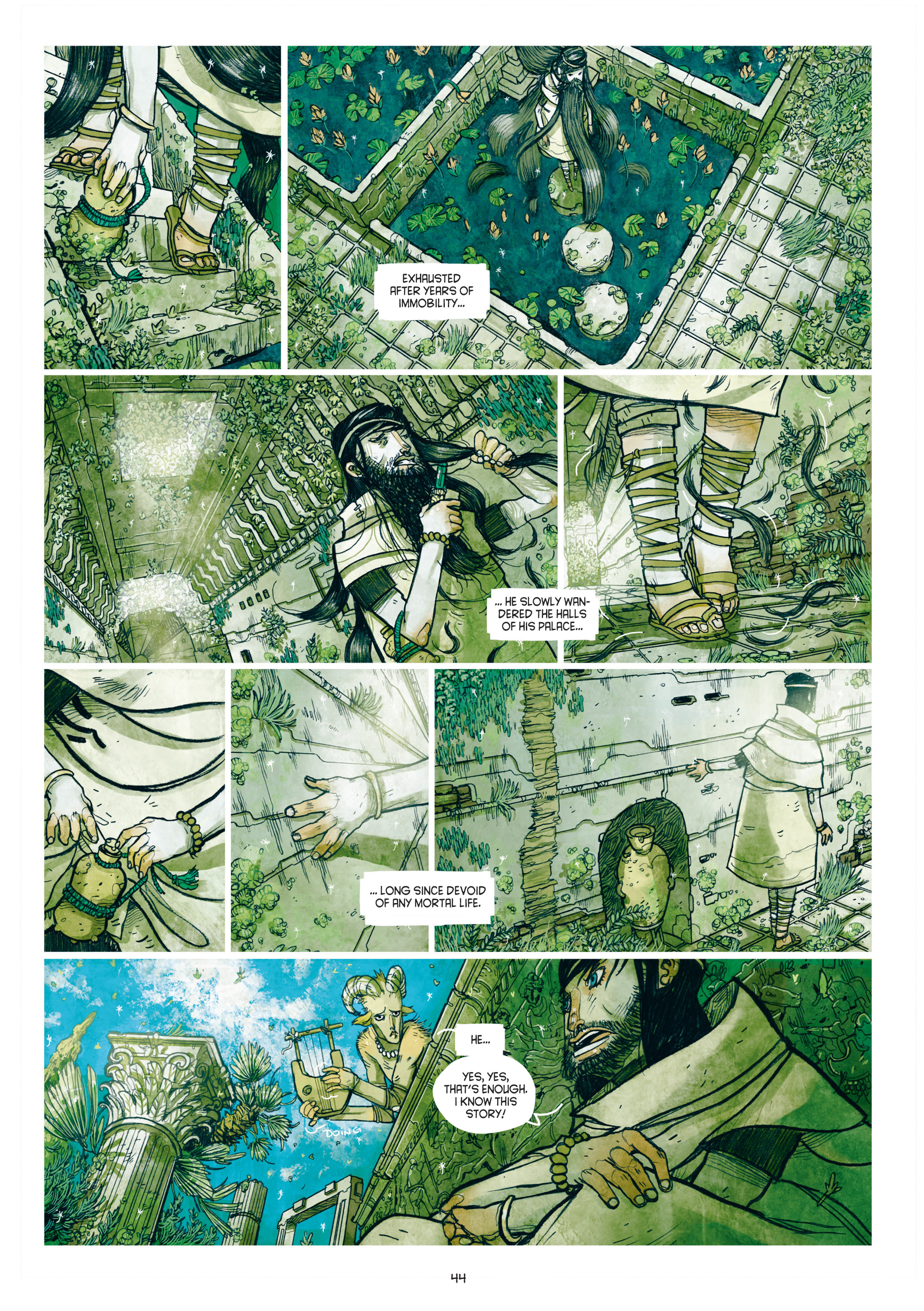Read online Adrastée comic -  Issue #1 - 45