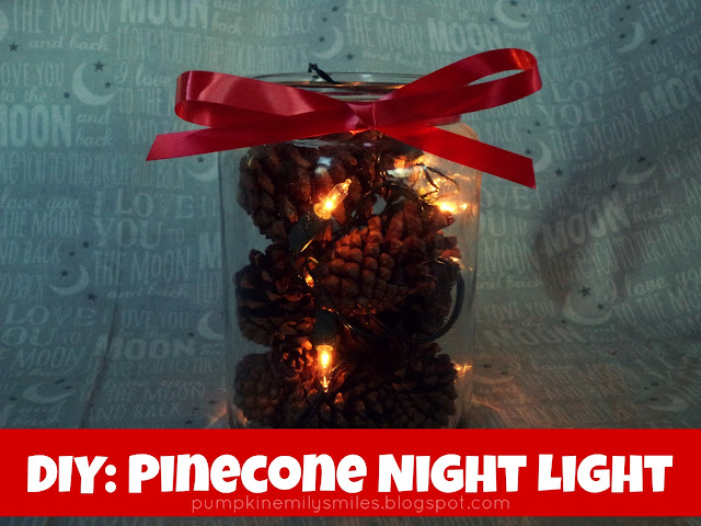DIY: Pinecone Night Light