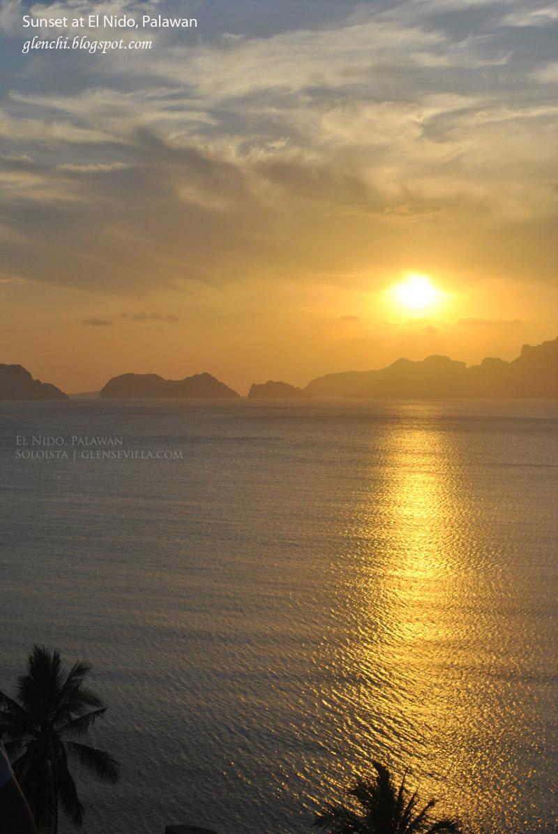 El Nido Palawan, Sunset