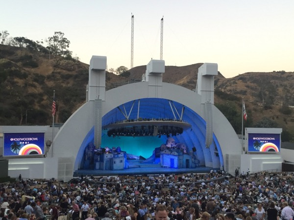 Mamma Mia Musical Hollywood Bowl