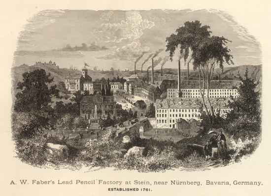 Faber-Castell factory 1761
