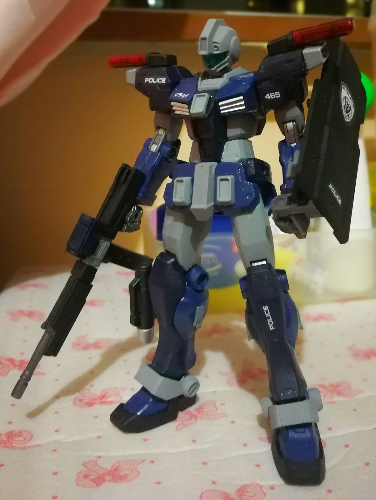 Gunplanerd: [CUSTOM] Bandai HGUC 1/144 RGM-79G/FP GM Command