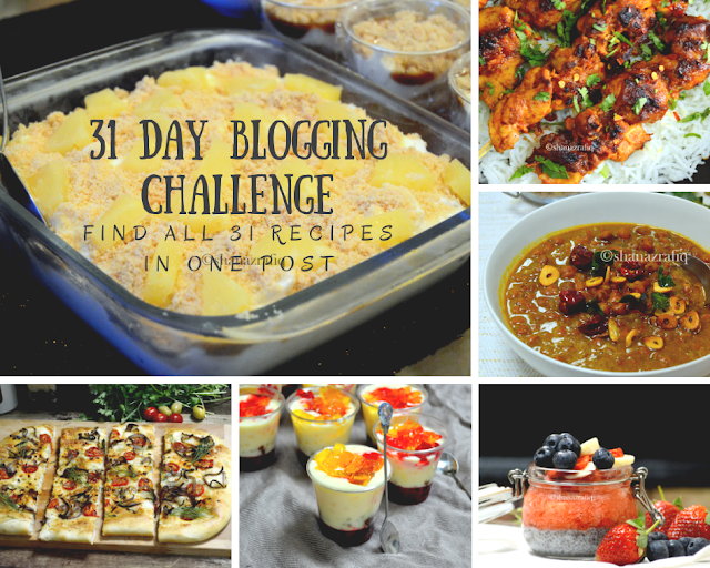 31 Day Blogging Challenge