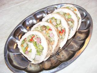 Reteta rulada de curcan cu legume la cuptor retete aperitive reci,